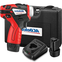 "ACDelco 1/4"" Power Impact Wrench Cordless Li-ion 12V Max C"