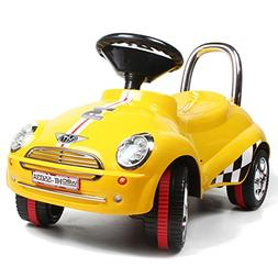 3-in-1 Ride On Car Toy Gliding Scooter with Sound & Light