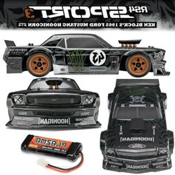 HPI 115990 1/10 RS4 SPORT3 K Block '65 Ford Mustang Hoonicor