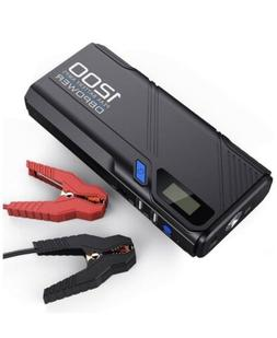 1200a peak portable car jump starter