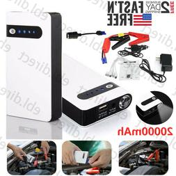 12V Mini Portable Car Jump Starter Booster Box Power Bank En