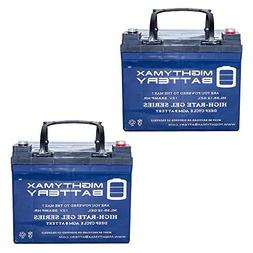 Mighty Max Battery 12V 35AH Gel Battery for Interstate DCM00