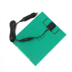 12V/5V DC Waterproof Battery Solar Panel USB Home For Phone