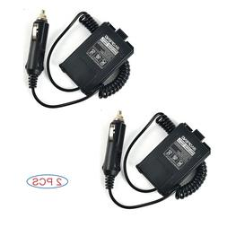12V Car Charger Battery Eliminator for Baofeng 5R Series Two