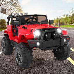 12V Jeep Style Kids Ride On Electric Car Battery Toys w/ MP3
