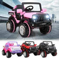 12V Kids Ride on Truck Car Battery Powered Electric Car 3 Sp
