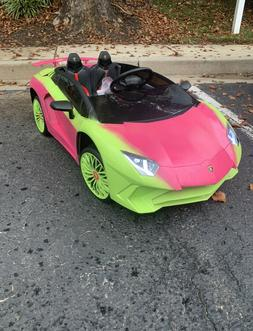 12V Lamborghini Aventador Battery Powered Ride on Car RC ANY