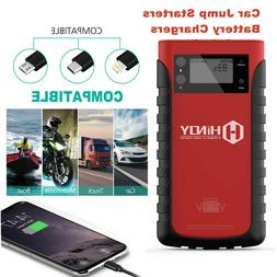 HINOY 12V Multipurpose Battery Charger Car Jump Starter Cell
