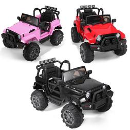 12V Ride On Car Kids W/ MP3 Electric Battery Power RC Remote