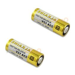 2 PACK Battery A23 23A 21/23 MN21 23AE Car Remote FOB Contro