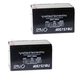 2 PACK NEW 12V 12AH F2 Interstate Batteries BSL1105 Replacem