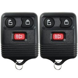 2 Replacement Keyless Entry Remote Control Key Fob Clicker T