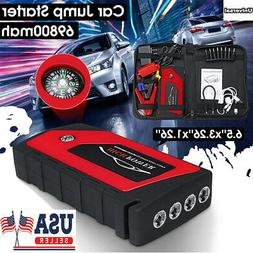 12V 69800mAh Car Jump Starter Portable USB Power Bank Batter