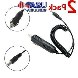 2Pack Car Charger Battery Eliminator for Baofeng 2 Way Radio