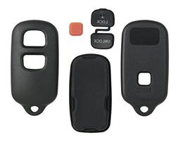 3 Button Replacement Key Keyless Remote Shell Pad Cover Fob