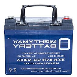 Mighty Max Battery 12V 35AH Gel Battery Replaces UPS Backup