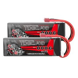GOLDBAT 3S 11.1V 3000mAh 30C Lipo Battery with Dean-Style T