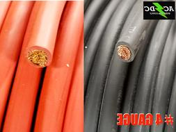 4 AWG Gauge AWG Welding Lead & Car Battery Cable Copper Wire