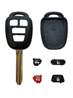 REMOTE STORE New 4 Button Replacement Shell, Buttons & Durac