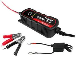6V/12V 3A Lead Acid Battery Charger/Maintainer for Auto Mari