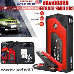 69800mAh 12V Car Jump Starter Portable USB Power Bank Batter