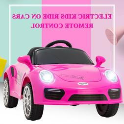 6V Kids Ride on Cars Electric Suspension Battery Toy w/Remot