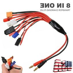 8-in-1  Lipo Battery Charger Multi Charging Plug Convert Cab