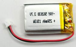 808 #16 Car Key Chain Micro Camera 3.7v 250Mah Replacement B