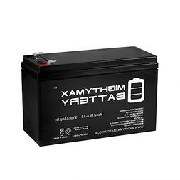 Mighty Max Battery 12V 8Ah Battery Replacement for Interstat