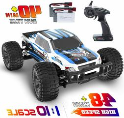 4WD RC Cars 1:10 Scale High Speed Racing Car 48+ kmh Monster