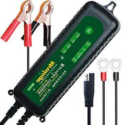 Mroinge MBC055 6V and 12V 5.5A Smart Vehicle Battery Charger