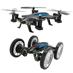 Taotuo 2 in 1 Air-Road RC Car Flying Quadcopter Toy with 4
