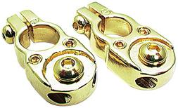 Allstar ALL76120 24K Gold Solid Brass Top Mount Style Plated