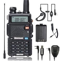 BaoFeng Walkei Talkie UV-5R Dual Band Two Way Radio with one
