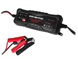 Battery Charger with 6/12V DC Output Voltage and Reverse Pol