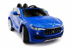Battery Powered 12V Kids Electric Ride-On Car Toy LICENSED M