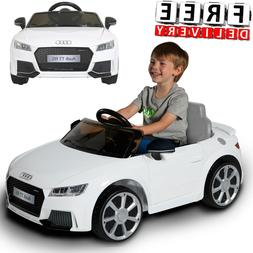 Battery Powered Car For Kids Ride On Toy 6V Electric Audi TT