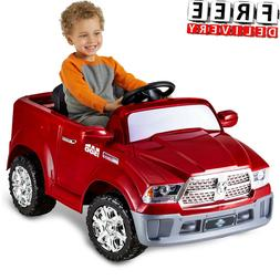 Battery Powered Car For Kids Ride On Toy 6V Electric Dodge V