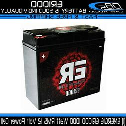 Car Audio Power Cell Battery Energie ER1000 12 V Volt 1000 W