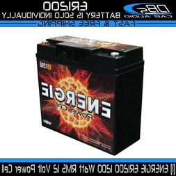 Car Audio Power Cell Battery Energie ER1200 12 V Volt 1200 W