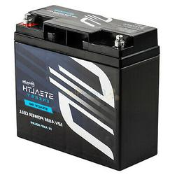 Car Audio Power Cell Battery Stealth 150 12V 15 Amp Hour Sea