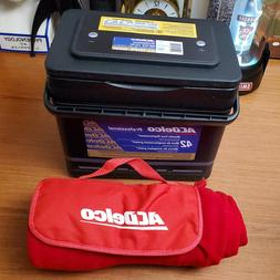 car battery shaped ice chest lunch box