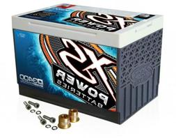 XS Power D3400 12V AGM 3300A Car Audio Battery/Cell+FREE 580