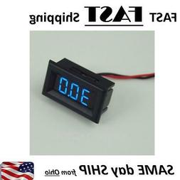 digital Battery Level Meter - Car Audio Amp Meter  12 V moun