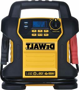 DEWALT DXAEJ14 Power Station Jump Starter: 1400 Peak/700 Ins