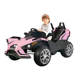 Electric 12V Kids Ride on Toys Battery Racing Car W/RC Light