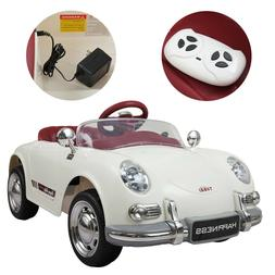 Electric Car Kids Ride On 6V Battery Powered W/ Remote Contr