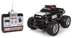 World Tech Toys Ford F-150 Electric RTR RC Police Truck, 1:2