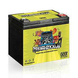 Green 12V 35AH 1050 Watts M6/T6 High Current Battery replace