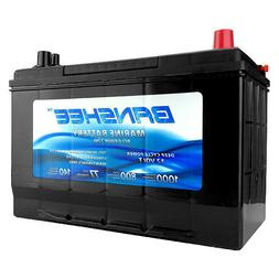 Group 27 Deep Cycle Marine Battery Replaces D27M 8027-127 Le